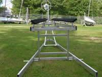 Photo Delta TL Sailboat Hoist Stern View