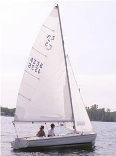 Flying Scot Sailing Lesson - Midwest Sailing Photo #6