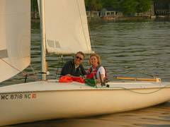 Flying Scot Sailing Lesson - Midwest Sailing Photo #1