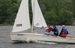 Flying Scot Sailing Lesson - Midwest Sailing Photo #2
