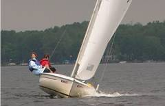 Flying Scot Sailing Lesson - Midwest Sailing Photo #4