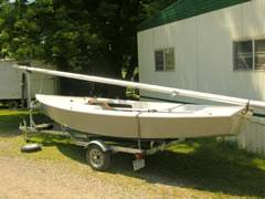 Photo Interlake on Trailer - Midwest Sailing